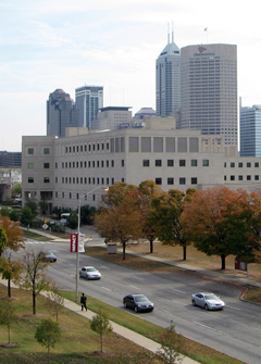 Picture of Informatics Building at IUPUI